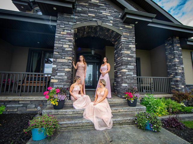 Kurtis and Bri's wedding in Calahoo, Alberta 5
