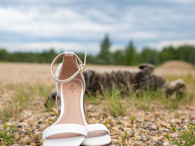 Kurtis and Bri's wedding in Calahoo, Alberta 12