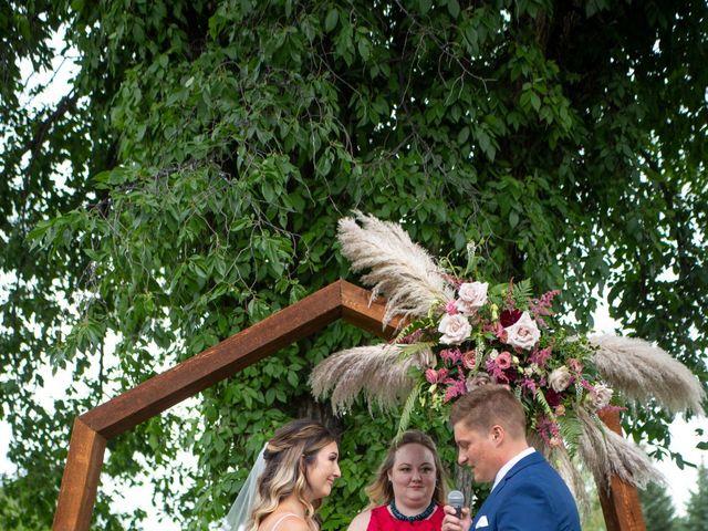 Kurtis and Bri's wedding in Calahoo, Alberta 27