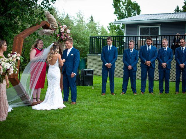 Kurtis and Bri's wedding in Calahoo, Alberta 28