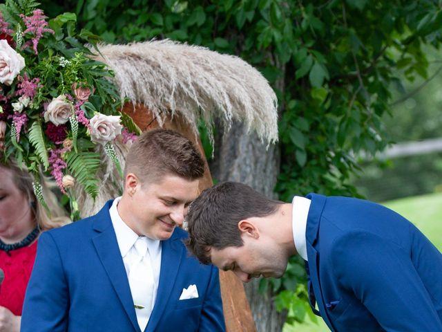 Kurtis and Bri's wedding in Calahoo, Alberta 34