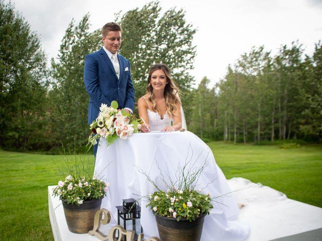 Kurtis and Bri's wedding in Calahoo, Alberta 36