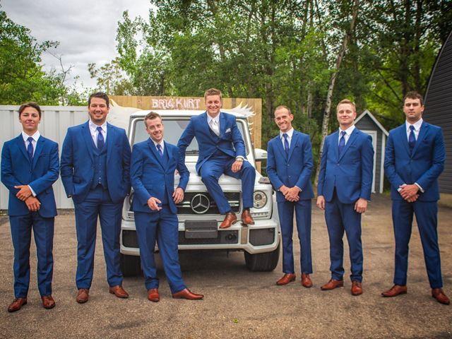 Kurtis and Bri's wedding in Calahoo, Alberta 1