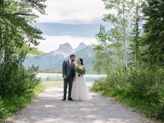 The wedding of Alisha and Tomas