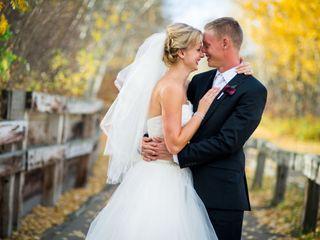 The wedding of Jennifer and John