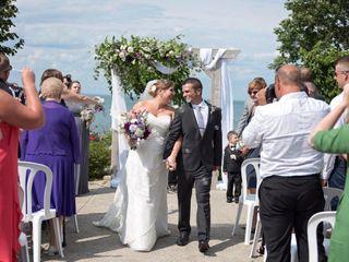 The wedding of Christine and Jeff 2