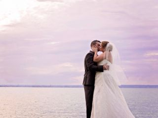 The wedding of Christine and Jeff