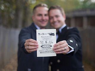The wedding of Kirk and Ryan 1