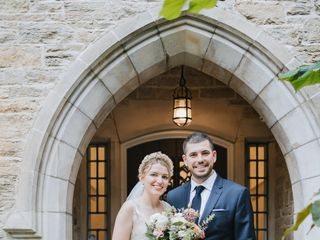 The wedding of Margaret and Dan 1