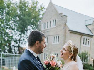 The wedding of Margaret and Dan