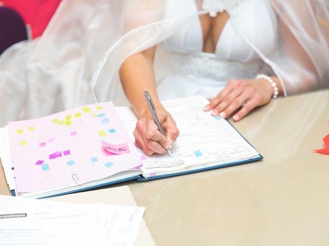 Justin and Jasmine's wedding in Scarborough, Ontario 2