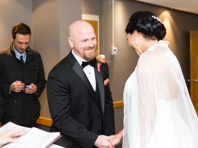 Justin and Jasmine's wedding in Scarborough, Ontario 10