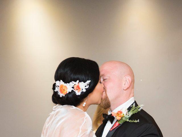 Justin and Jasmine's wedding in Scarborough, Ontario 13
