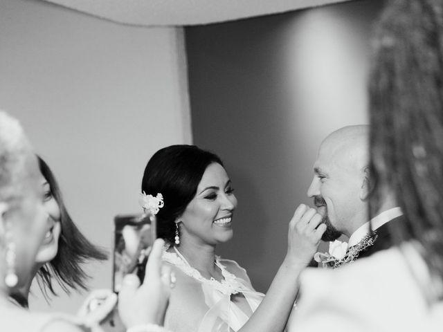 Justin and Jasmine's wedding in Scarborough, Ontario 14