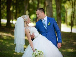 The wedding of Steve and Olga