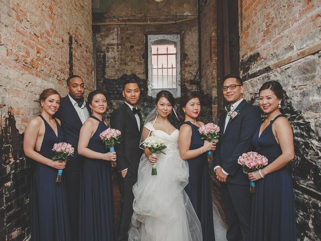 The wedding of Annie and Ray