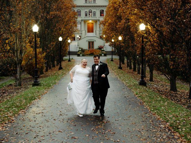 The wedding of Karla and Chris