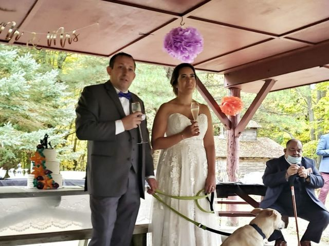 Tony and Giselle's wedding in Campbellcroft, Ontario 6