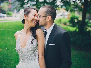 The wedding of Karen and Ben