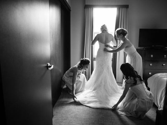 David and Vanessa's wedding in Canmore, Alberta 14