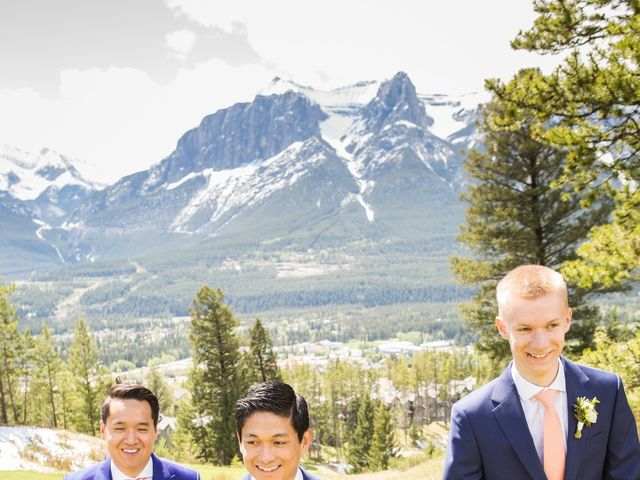 David and Vanessa's wedding in Canmore, Alberta 17