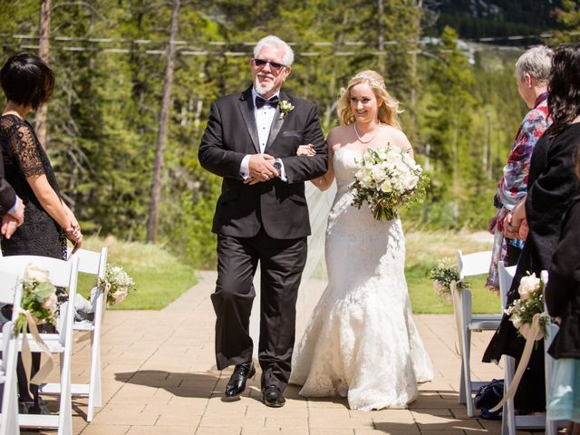 David and Vanessa's wedding in Canmore, Alberta 21