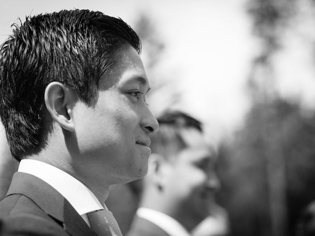 David and Vanessa's wedding in Canmore, Alberta 22