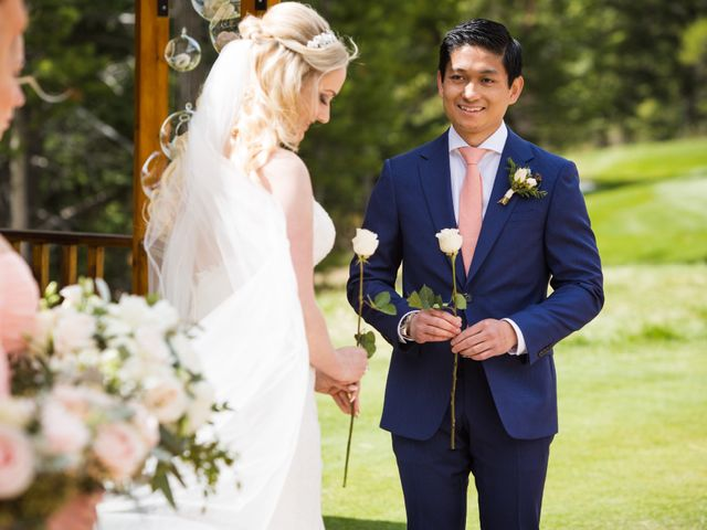 David and Vanessa's wedding in Canmore, Alberta 26