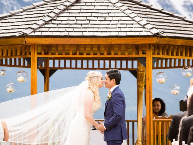 David and Vanessa's wedding in Canmore, Alberta 30