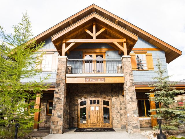 David and Vanessa's wedding in Canmore, Alberta 34