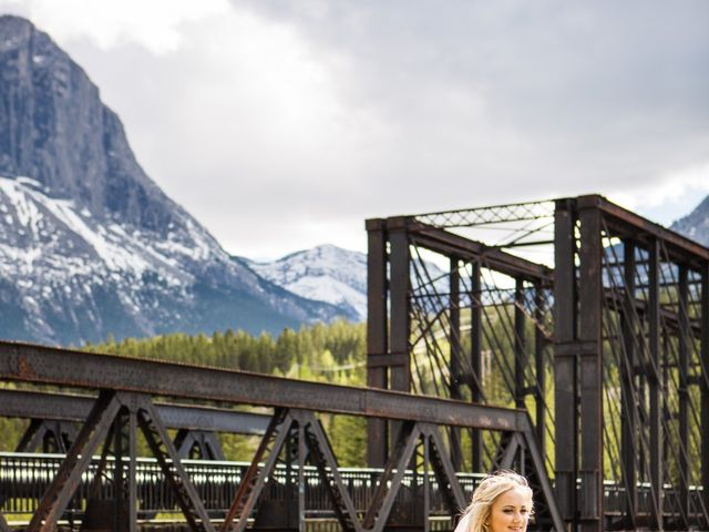 David and Vanessa's wedding in Canmore, Alberta 36