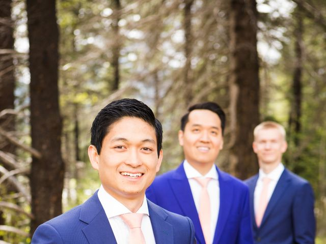 David and Vanessa's wedding in Canmore, Alberta 44