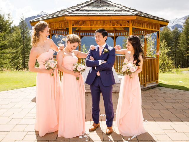 David and Vanessa's wedding in Canmore, Alberta 47