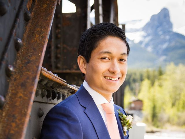 David and Vanessa's wedding in Canmore, Alberta 54
