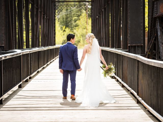 David and Vanessa's wedding in Canmore, Alberta 55