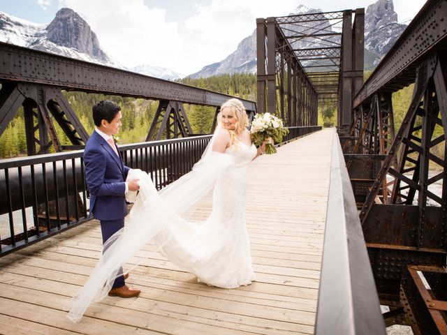 David and Vanessa's wedding in Canmore, Alberta 61