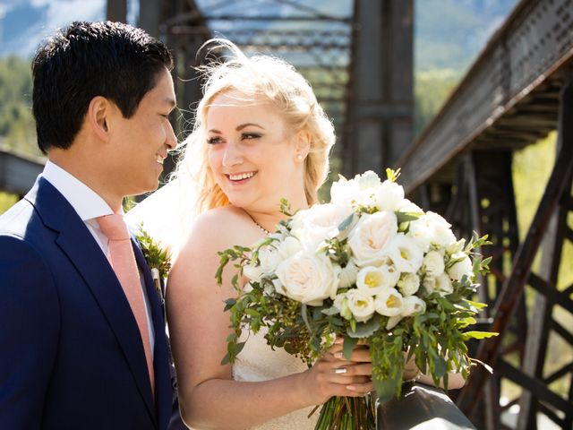 David and Vanessa's wedding in Canmore, Alberta 62