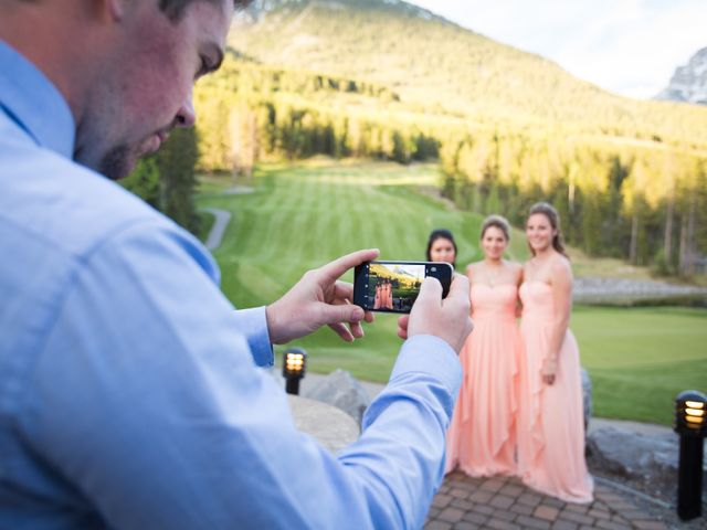 David and Vanessa's wedding in Canmore, Alberta 64