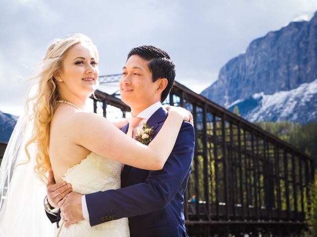 David and Vanessa's wedding in Canmore, Alberta 65