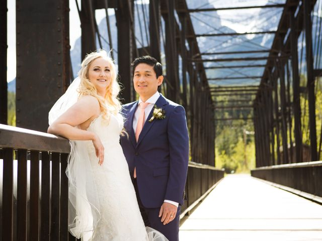 David and Vanessa's wedding in Canmore, Alberta 70