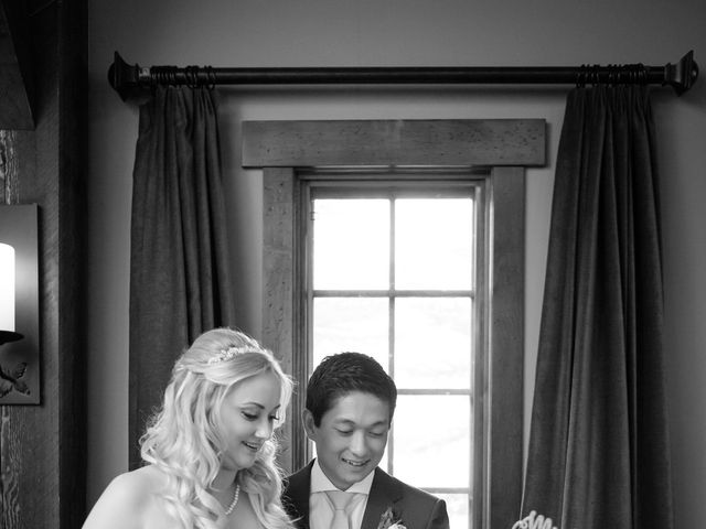 David and Vanessa's wedding in Canmore, Alberta 73