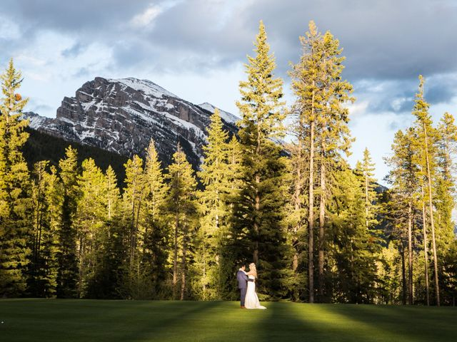 David and Vanessa's wedding in Canmore, Alberta 77
