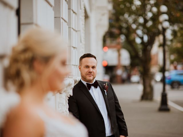 Logan and Rachael's wedding in Victoria, British Columbia 33
