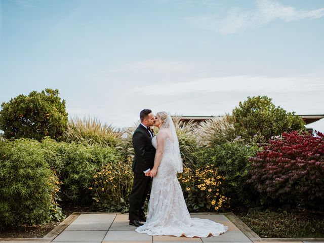 The wedding of Rachael and Logan