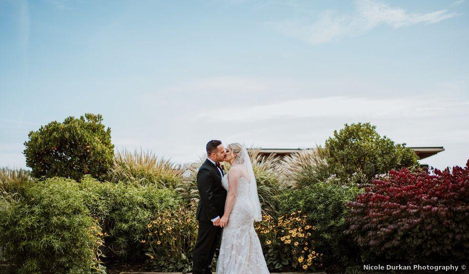 Logan and Rachael's wedding in Victoria, British Columbia