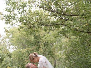 The wedding of Corrie and Dan