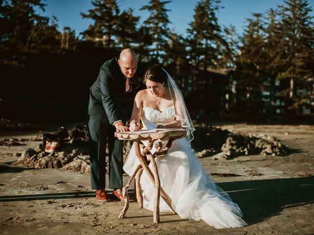 Jason and Mia's wedding in Tofino, British Columbia 1