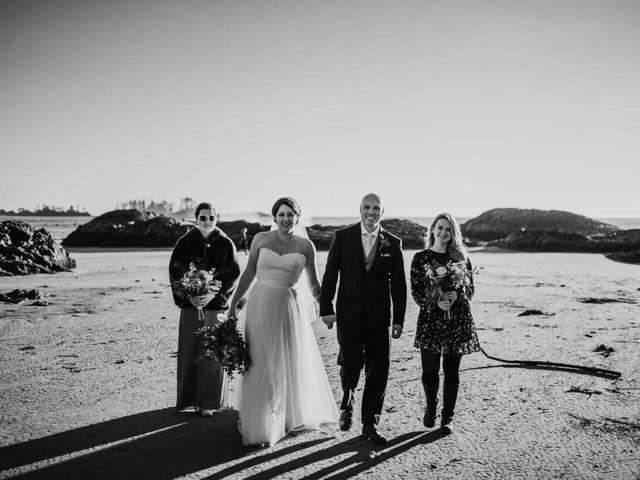 Jason and Mia's wedding in Tofino, British Columbia 19