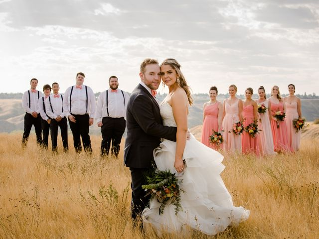 Kole and Krysty's wedding in Lethbridge, Alberta 1