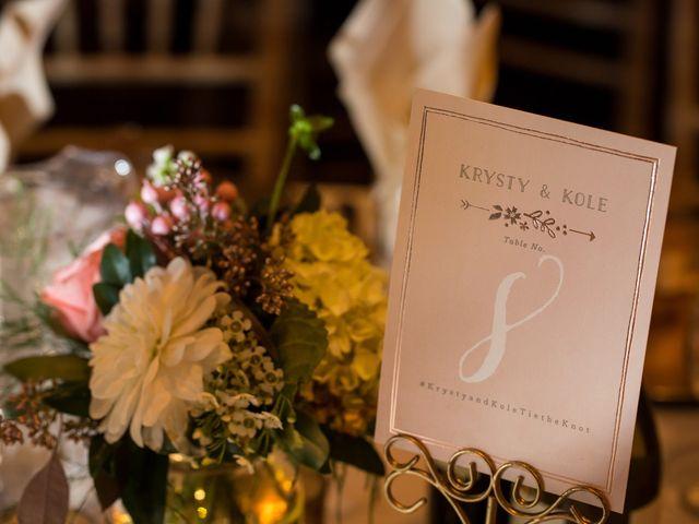 Kole and Krysty's wedding in Lethbridge, Alberta 36